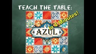 YouTube video How to play Azul in 4 Minutes