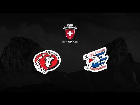 Lausanne HC – Adler Mannheim