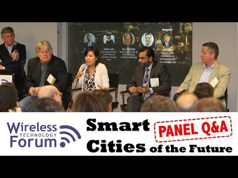 Smart Cities Panel Discussion April 2017