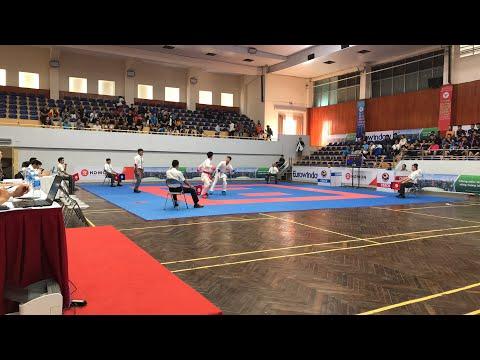 ĐẠI HỘI THỂ THAO TOÀN QUỐC LẦN THỨ VIII HÀ NỘI 2018 MÔN KARATE Ngày thi đấu thứ 2. 1/12/2018