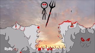 The Cliff 4 - Rebirth (FlipaClip animation 83, stick fight, blood warning!) thumbnail