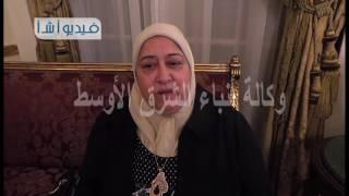 بالفيديو الدكتوره نجوي خليل وزيرة التأمينات تتحدث عن سيدة المنيا