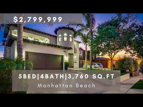 Manhattan Beach Homes For Sale | 1130 18th Street Home Tour