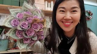 용돈꽃다발 돈꽃다발 만들기(비누꽃) 대전예쁜꽃집 꽃날애…