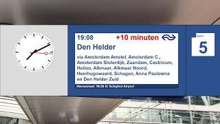 NS omroepen XXL Utrecht Centraal Tuffie Vos #1 ('Beste reizigers')