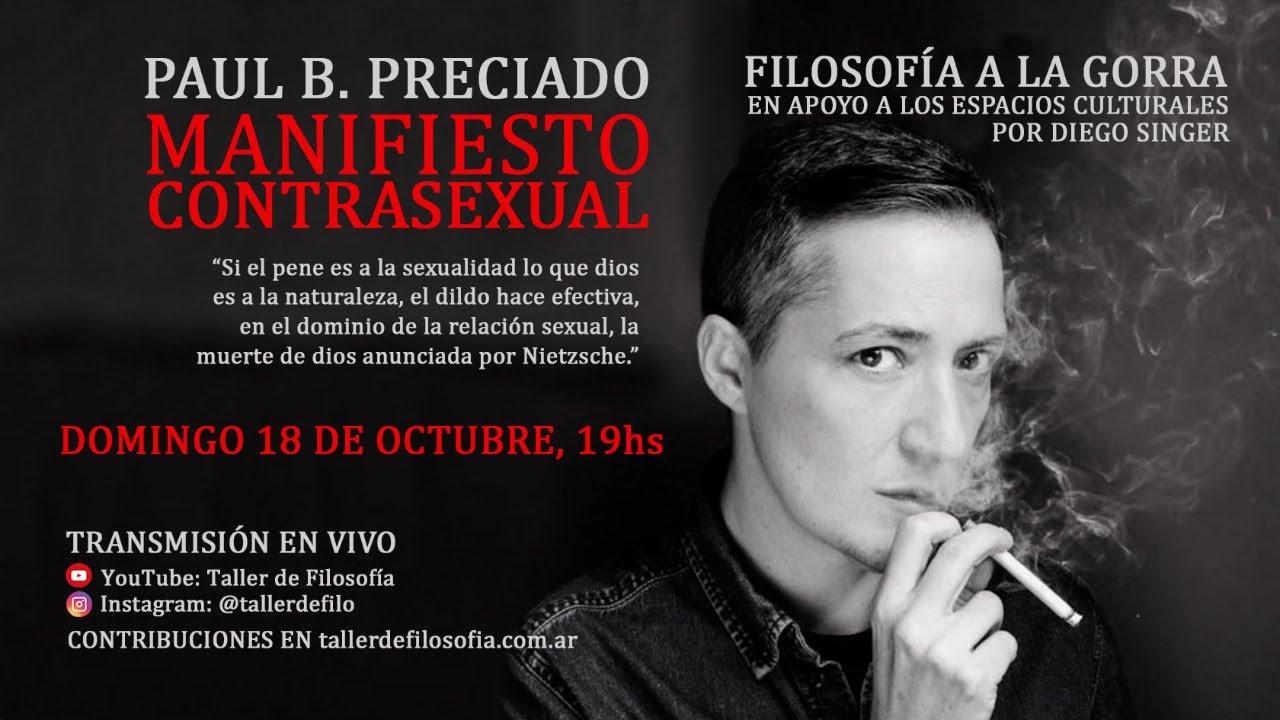 Paul B. Preciado. Manifiesto contrasexual