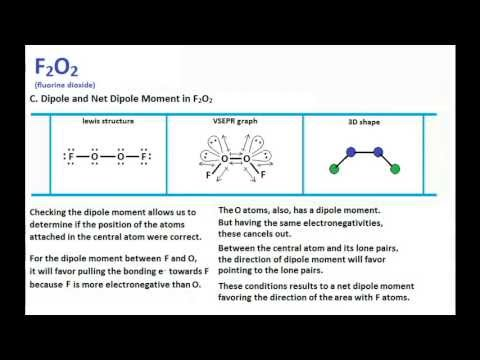 F2o2 Lewis Structure Molecular Geometry