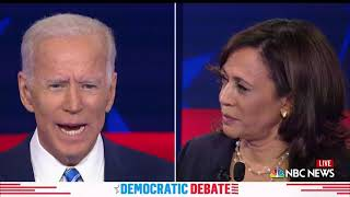 WATCH: Harris pushes Biden's record on busing, saying 'the federal government must step in'