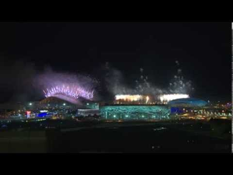 SOCHI2014 - opening ceremony and fireworks