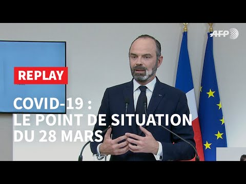 REPLAY - Covid-19: le point de situation du 28 mars