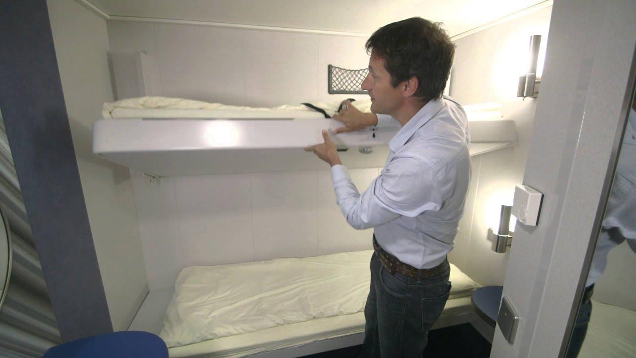 Inside 2 Berth Cabin Brittany Ferries Youtube