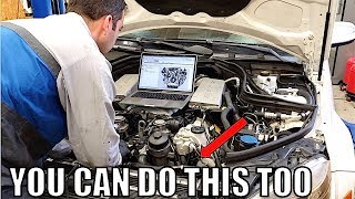My C63 AMG Was A Total Nightmare Until I Learned This 1 Trick. 6.3-Liter AMG V8 DIY Hack. Must Watch