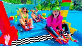 FASTEST GO KART WINS!!   JOIN TEAM RAR EP 3