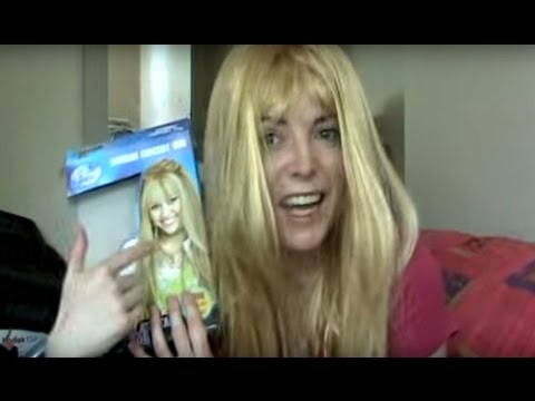 Hannah Montana - How to Look Nothing Like a Pop Star - Wig Fail!