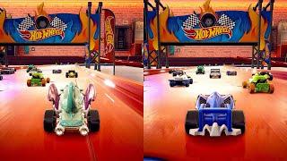 Hot Wheel Unleashed - Splitscreen Multiplayer Gameplay (PS5)
