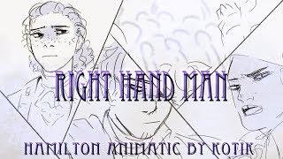 Right Hand Man   Hamilton animatic