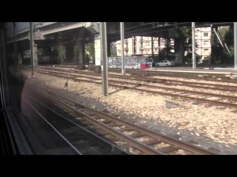 [HD] TGV along the shoreline: TGV Nice- Marseille
