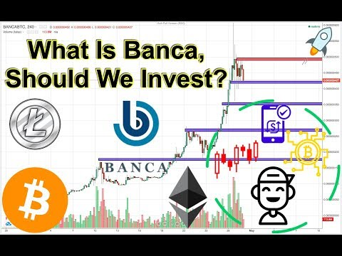 BANCA Intro (BANCA/BTC) + BTC/ETH/LTC Technical Analysis!