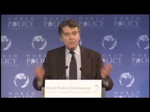 Thierry de Montbrial - Nov 1, 09 - Closing Session - 1/2