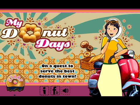 My Donut Days (iPhone and Android game)