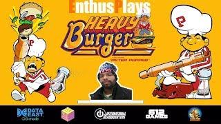 Heavy Burger (Switch) - EnthusPlays #HeavyBurger #DataEast #BurgerTime