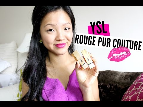 YSL ROUGE PUR COUTURE LIPSTICKS (09 & 19)   now&jenn