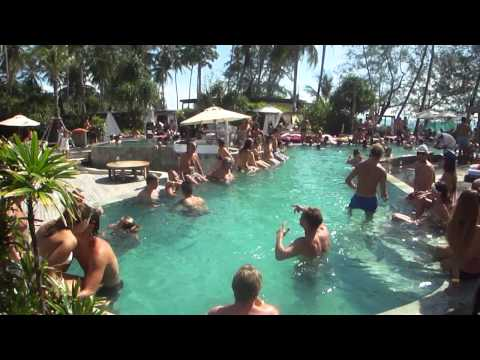 Nikki Beach Koh Samui, Thailand Sunday brunch
