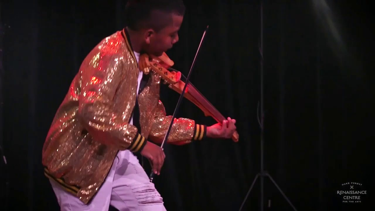 """Download """"Stronger""""-Kelly Clarkson (violin cover) Tyler Butler-Figueroa Violinist age 13, Wake Forest NC #AGT"""