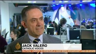 Jack Valero on AlJazeera News on the Pope's apology for clerical sexual abuse