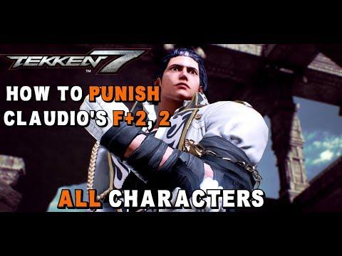 Tekken 7 - How to Punish Claudio's F+2,2