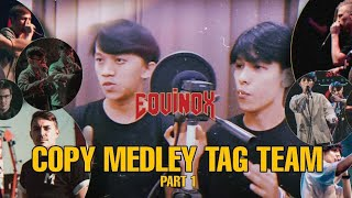 FADHIL & EZZA (EQUINOX) | BEATBOXER COPY MEDLEY | TAG TEAM | PART 1