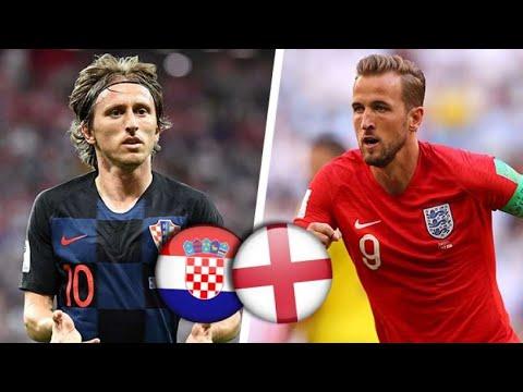 Les buts de la demi finale Croatie-Angleterre