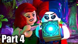LEGO DC SUPER-VILLAINS [PS4 PRO] Gameplay Walkthrough Part 4 | No Commentary
