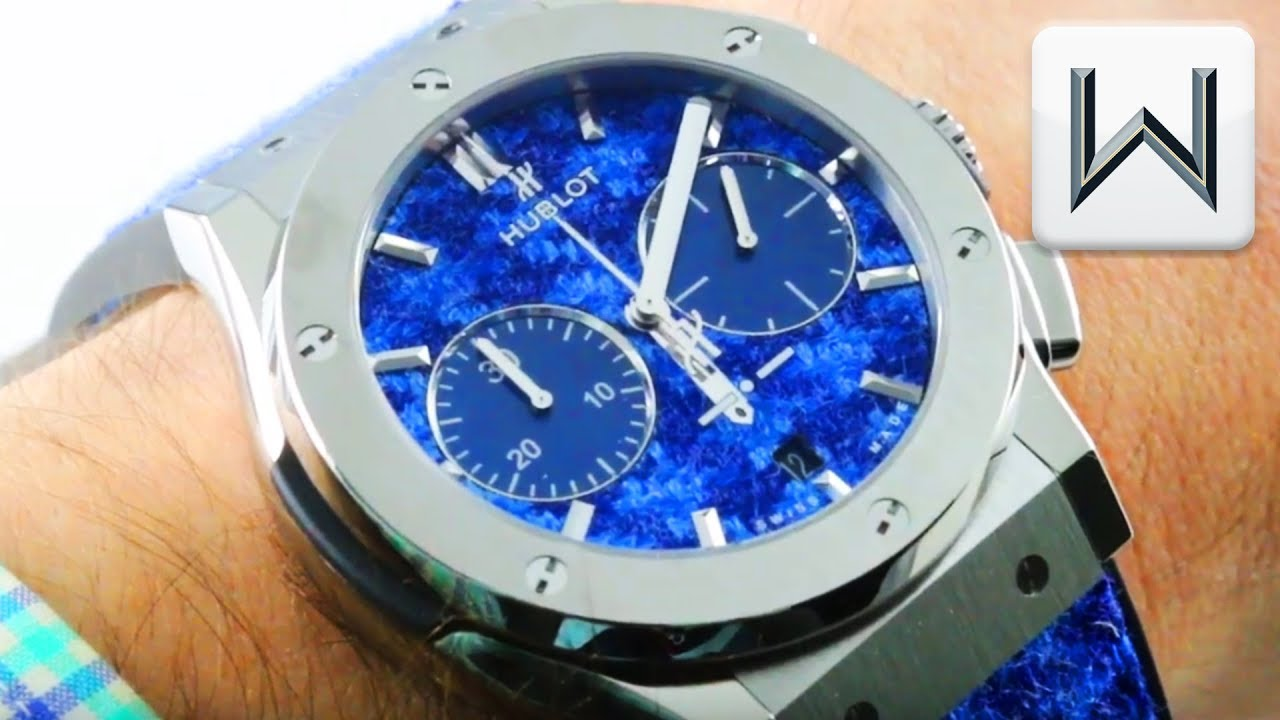 2018 Hublot Classic Fusion Italia Independent Pieds de Poule 521.NX.2710.NR.ITI18 Watch Review