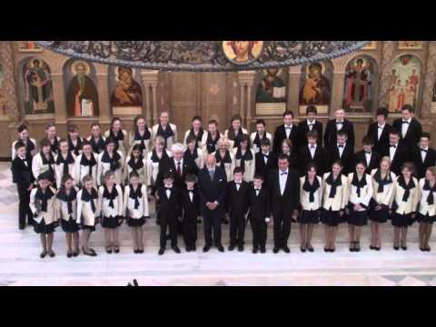 Детский хор телевидения и радио Санкт-Петербурга.Пасхальный фестиваль 7.05.2013