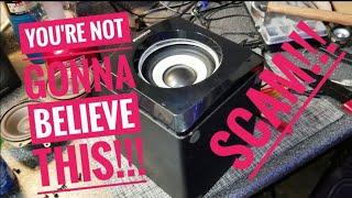 Sylvania Speaker Subwoofer Scam!