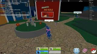 Playing Pokemon figthers Together with Acosta218 part 2 I Roblox