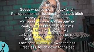 Renni Rucci - Fuck em up sis [ LYRICS ]