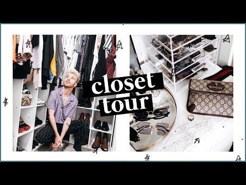MY CLOSET TOUR 2018  Imdrewscott