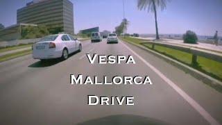 Mallorca Spain Vespa Motorcycle City Drive - GoPRO