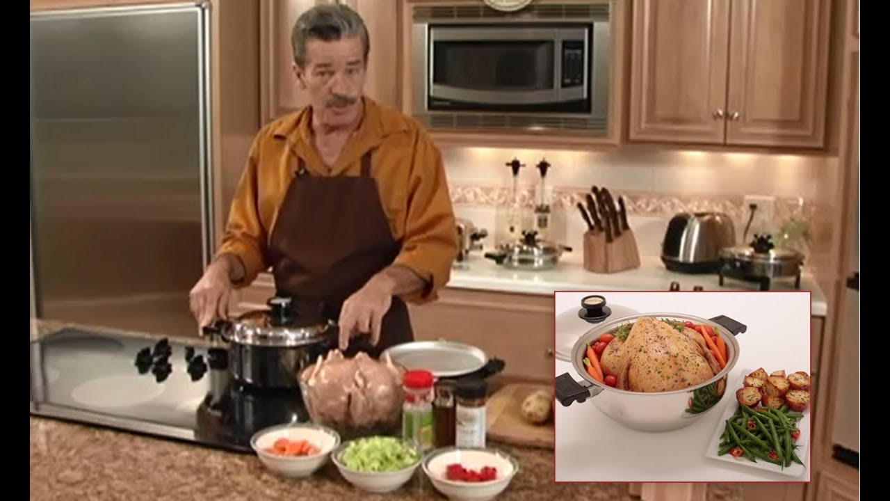 Kitchen Craft Cookware Gourmet Cooker Chicken Youtube
