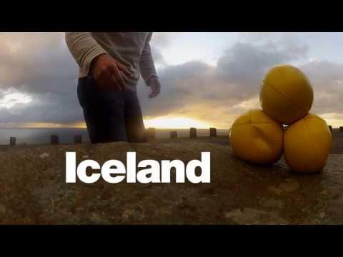 Jonglierend durch Island