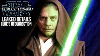The Rise Of Skywalker Luke Back To Life Leaked Hint Revealed! (Star Wars Episode 9)