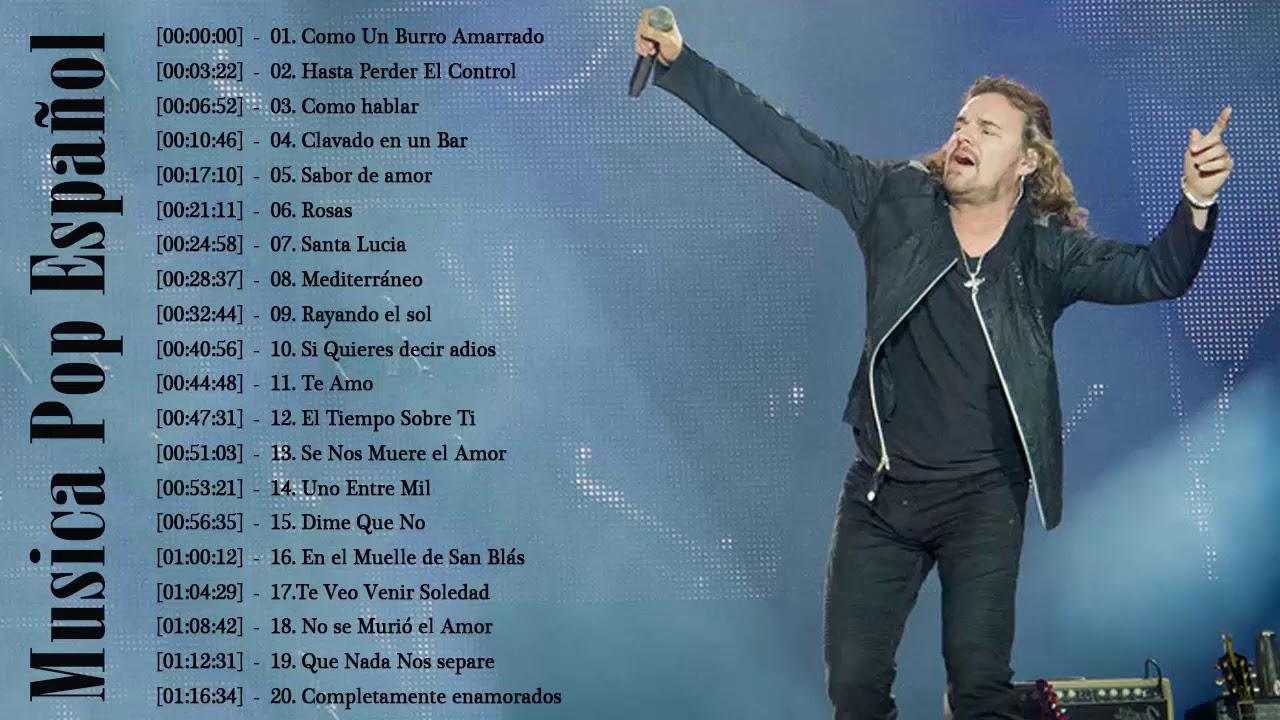 Las Mejores Canciones Del Pop Español 70 80 90 Mejores Canciones En Español De Los 80s Y 90s Youtube