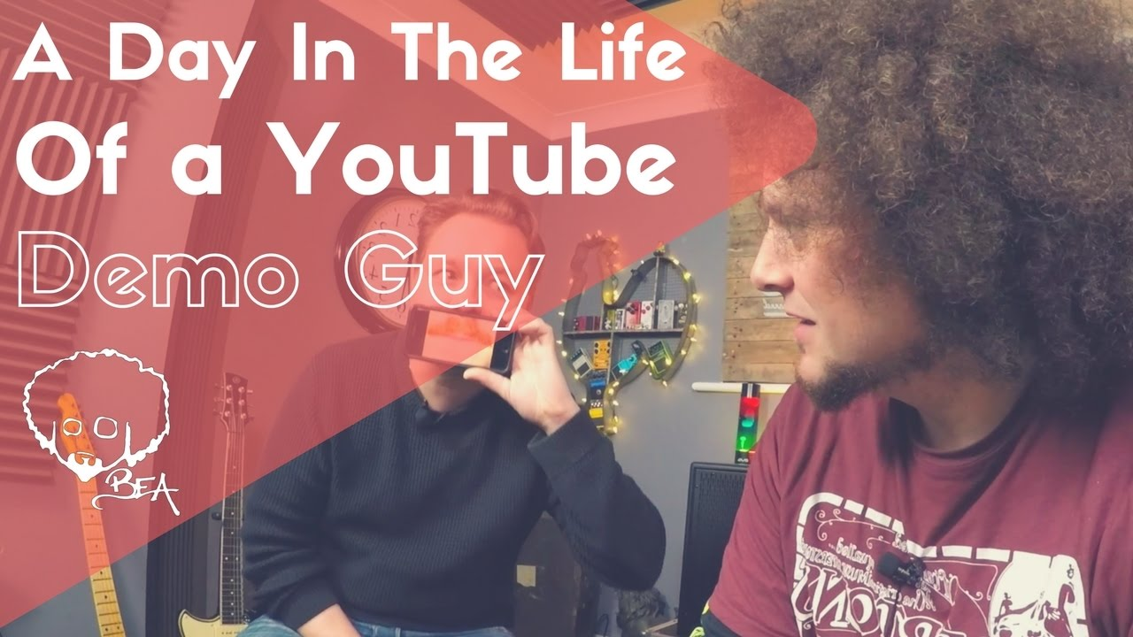 A Day In The Life of A YouTube Demo Guy - YouTube