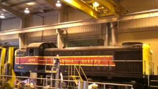 Alco RS-3 and FPA-4 Diesel Locomotive Start-up