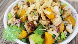 Oriental Chicken Salad : Homemade Oriental Dressing