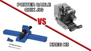 Pocket Hole Jigs Tool Fight:  Kreg K5 vs. Porter Cable QuikJig