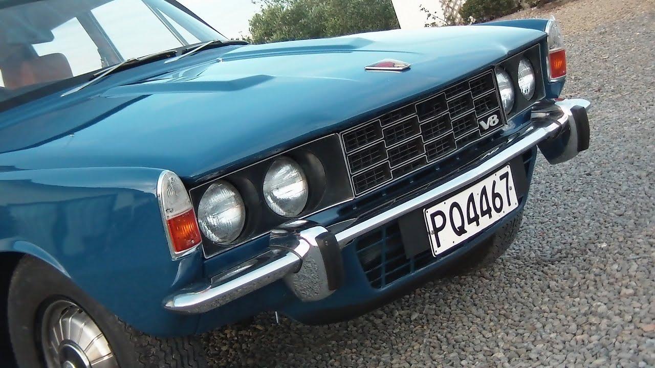 1973 Rover P6 3500 V8 Waimak Classic Cars New Zealand