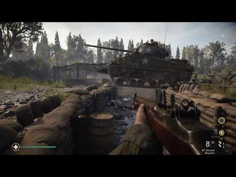 Operation COBRA - Call of Duty WWII in 4K -